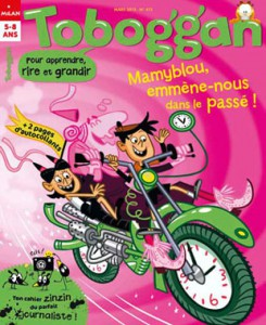 Toboggan nous emmène dans le passé - Mars 2015