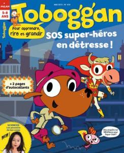 Toboggan : Super-héros - Mai 2015