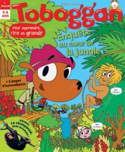 Toboggan enquête au coeur de la jungle ! Juillet 2015