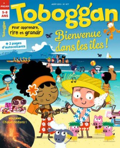 Toboggan : Bienvenue dans les îles ! Août 2015