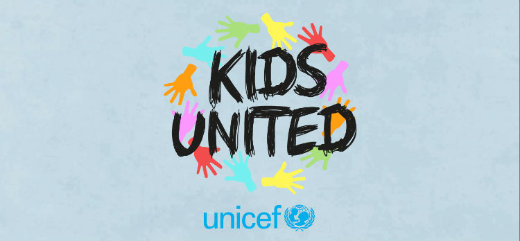 Album Unicef KIDS UNITED une