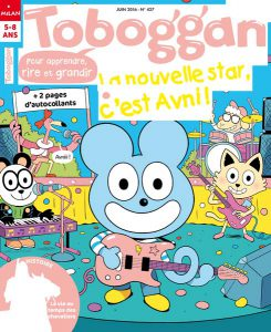Couverture Toboggan magazine juin 2016