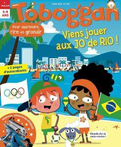 Viens jouer aux jeux olympiques de Rio avec Toboggan !