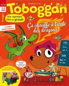 Reprenons le chemin de l'école avec Toboggan !