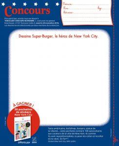 Concours Toboggan dessine Super-Burger