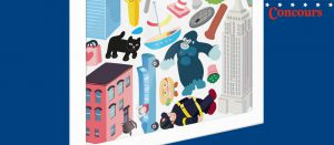 New-York City 100 Wall Stickers
