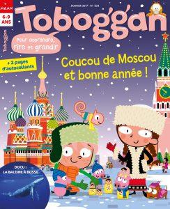 Coucou de Moscou et bonne année avec les Trobiencachés dans Toboggan Magazine !