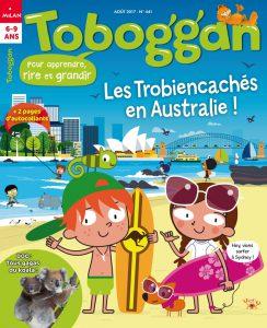 Toboggan en Australie - Août 2017
