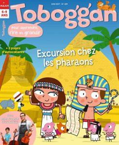 Toboggan : Excursion chez les pharaons