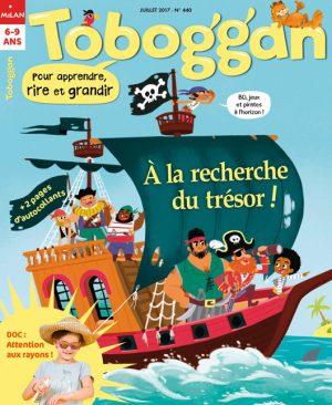 Toboggan : À la recherche du trésor !