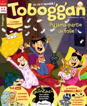 Pyjama-party de folie - Toboggan magazine
