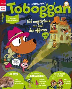 Toboggan magazine : vol mystérieux au bal des affreux !