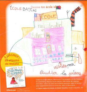 Concours Toboggan « Dessine ton école idéale » - Alban.P(38)