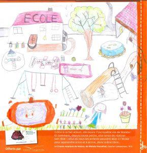 Concours Toboggan « Dessine ton école idéale » - Lilou.M(71)