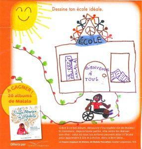Concours Toboggan « Dessine ton école idéale » - Nina.N(33)