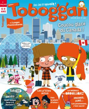 Coucou glacé du Canada dans Toboggan Magazine