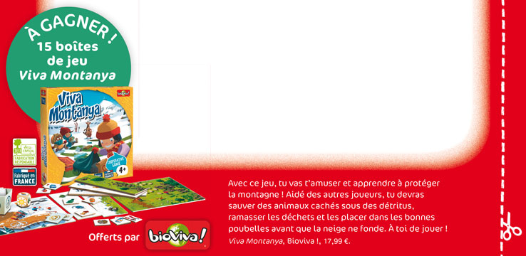 Concours Toboggan Magazine - Viva Montanya !