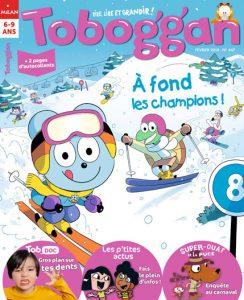 Toboggan magazine : à fond les champions !