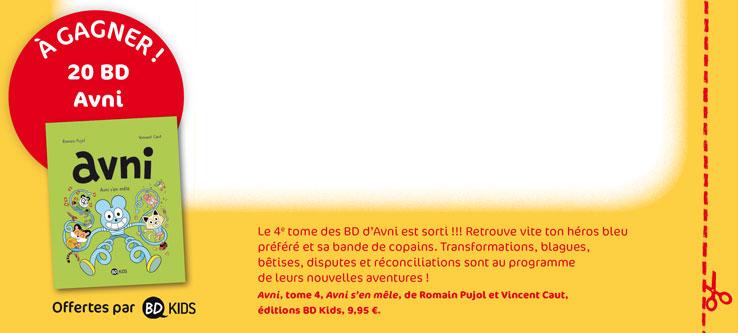 """Concours Toboggan Magazine """" Imagine un selfie rigolo d'Avni pour fêter 2018 !"""""""