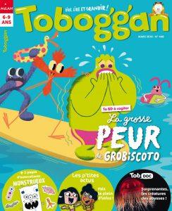 Couverture Toboggan magazine : la grosse peur de gros biscoto