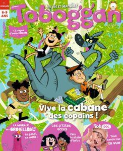 Vive la cabane des copains dans Toboggan magazine !