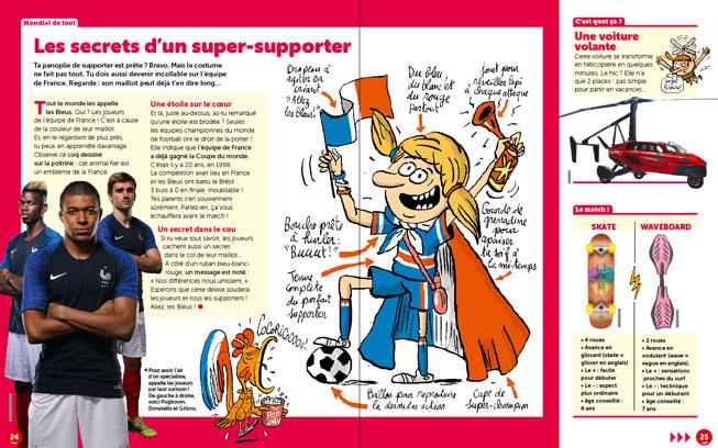 le petit journal d'actualité : la Coupe du monde de football