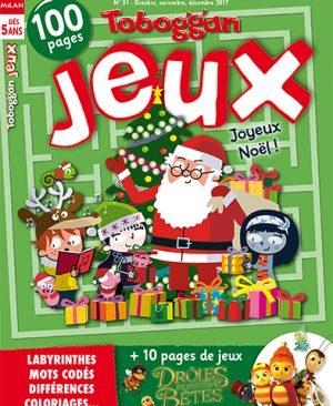 Toboggan-jeux - Joyeux noel