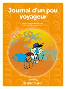 """Mission Lecture : un mini-roman détachable """"Journal d'un pou voyageur"""""""