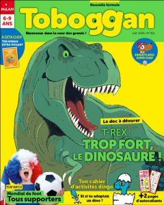Toboggan magazine : trop fort le dinosaure !