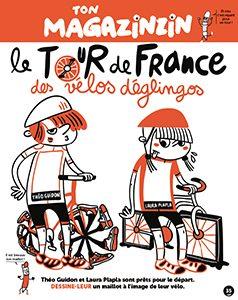 Ton magazinzin - Le tour de france des vélos déglingos