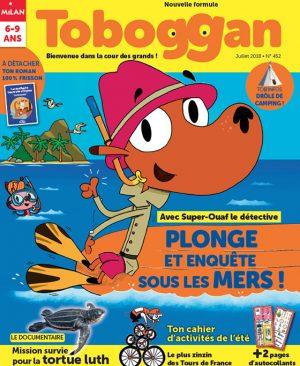 Toboggan - Plonge et enquête sous les mers