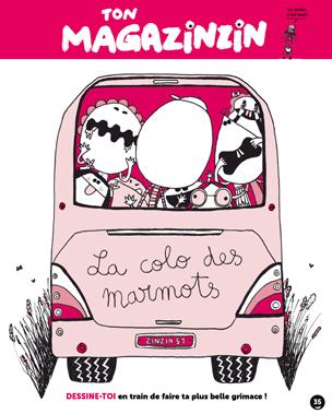 Le cahier d'activités Magazinzin - Toboggan Magazine