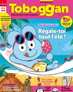 Régale-toi tout l'été avec ton magazine Toboggan !