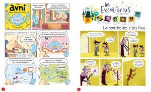 BD Toboggan magazine : AVNI et Excalibrius
