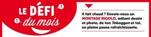 """Concours Toboggan Magazine """"Défi du mois"""" - Juin 2018"""