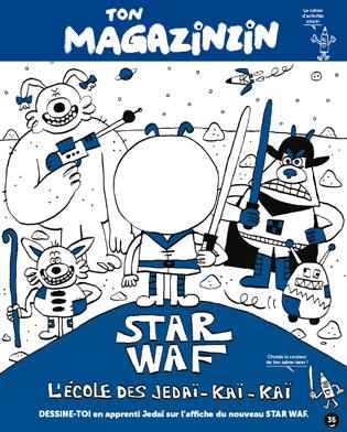 Magazine Toboggan: Ton Magazinzin spécial Star Wars