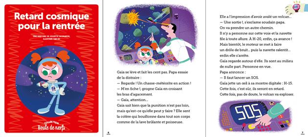 Carnet Toboggan magazine avec un récit sur le thème de la colère