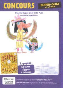 Nell.-G-(22)- Super-Ouaf et La Puce en dieux Égyptien