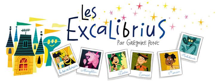 Les Excalibrius - Toboggan Magazine
