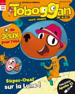 Toboggan magazine : Super-Ouaf sur la Lune !