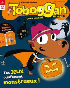 Toboggan fête Halloween !