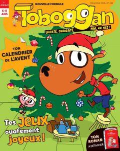 Abonnement Toboggan magazine noël 2019