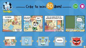 Crée ta mini BD avec Avni