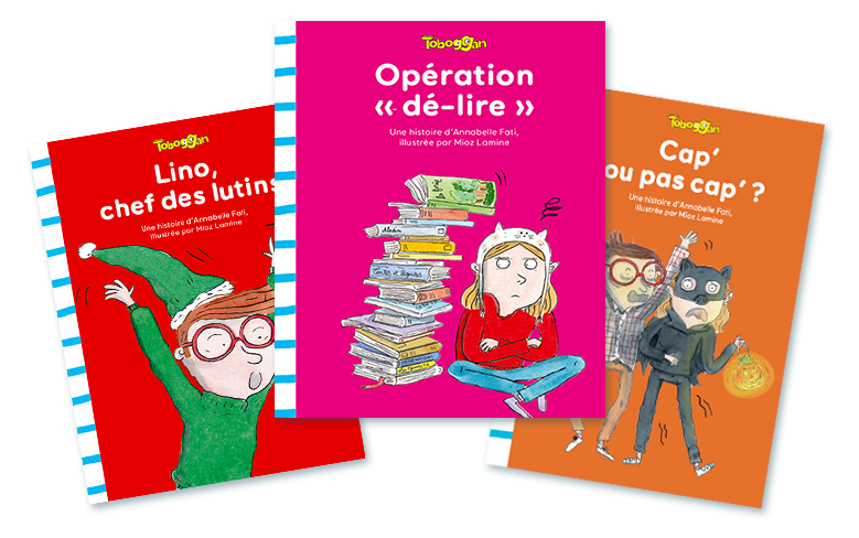 Petite bibliothèque - Toboggan Magazine - livre enfant