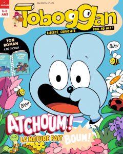Couverture magazine TOBOGGAN mai