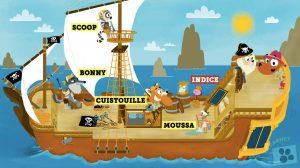 jeu enquête bateau super-ouaf