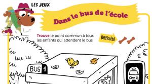 Jeux bus septembre toboggan
