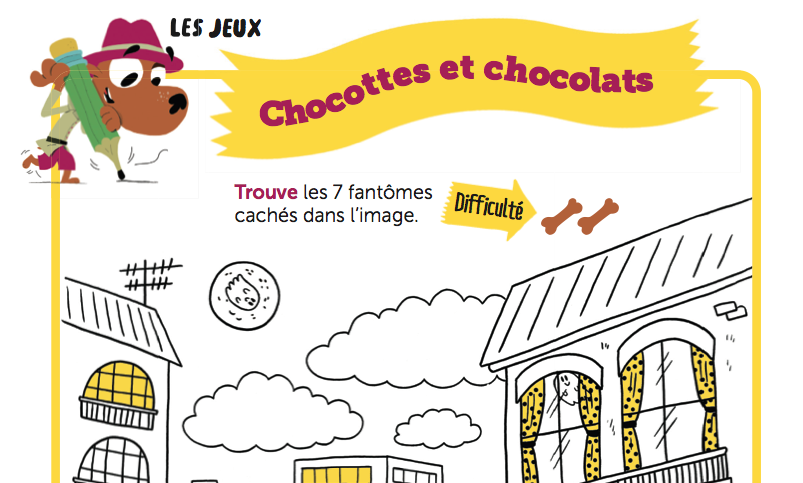 solutions jeux toboggan chocottes chocolats