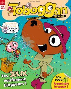 Toboggan Magazine -Tes jeux ouafement blagueurs