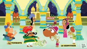 Enquête avec Super-Ouaf : Qui a peint le tigre du maharadja ? Toboggan magazine